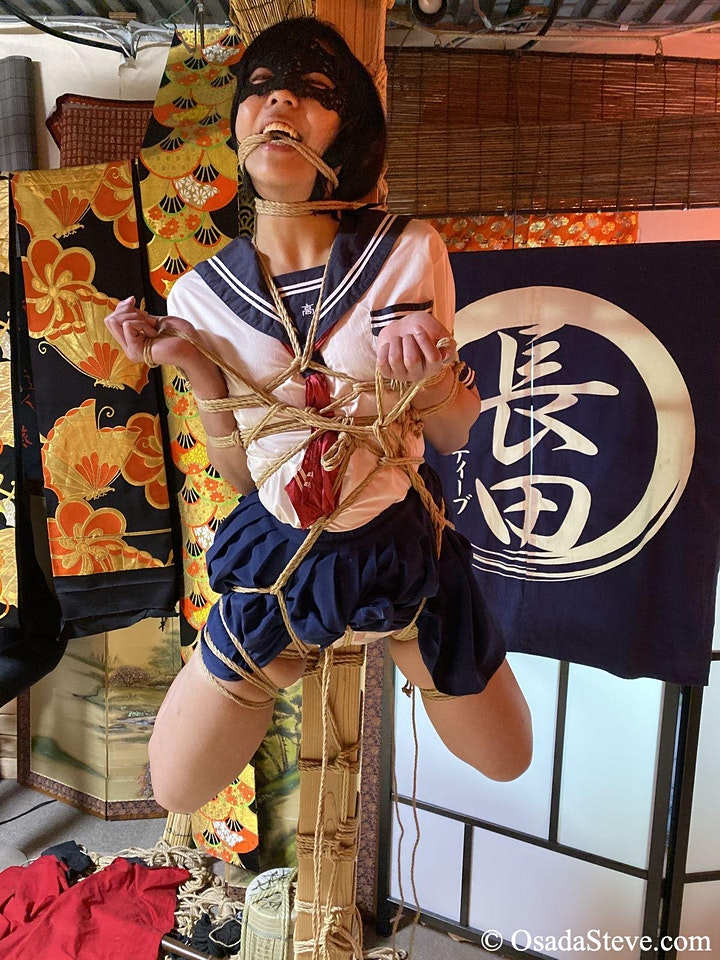 Online-Hashira-Kurs, live gestreamt aus dem Studio SIX in Tokio.