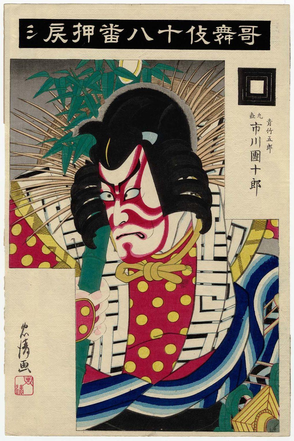Von Tadakiyo (Hasegawa Kanbee XIV) (1847–1929) - Museum of Fine Arts, Boston, online database, Gemeinfrei, https://commons.wikimedia.org/w/index.php?curid=38440404
