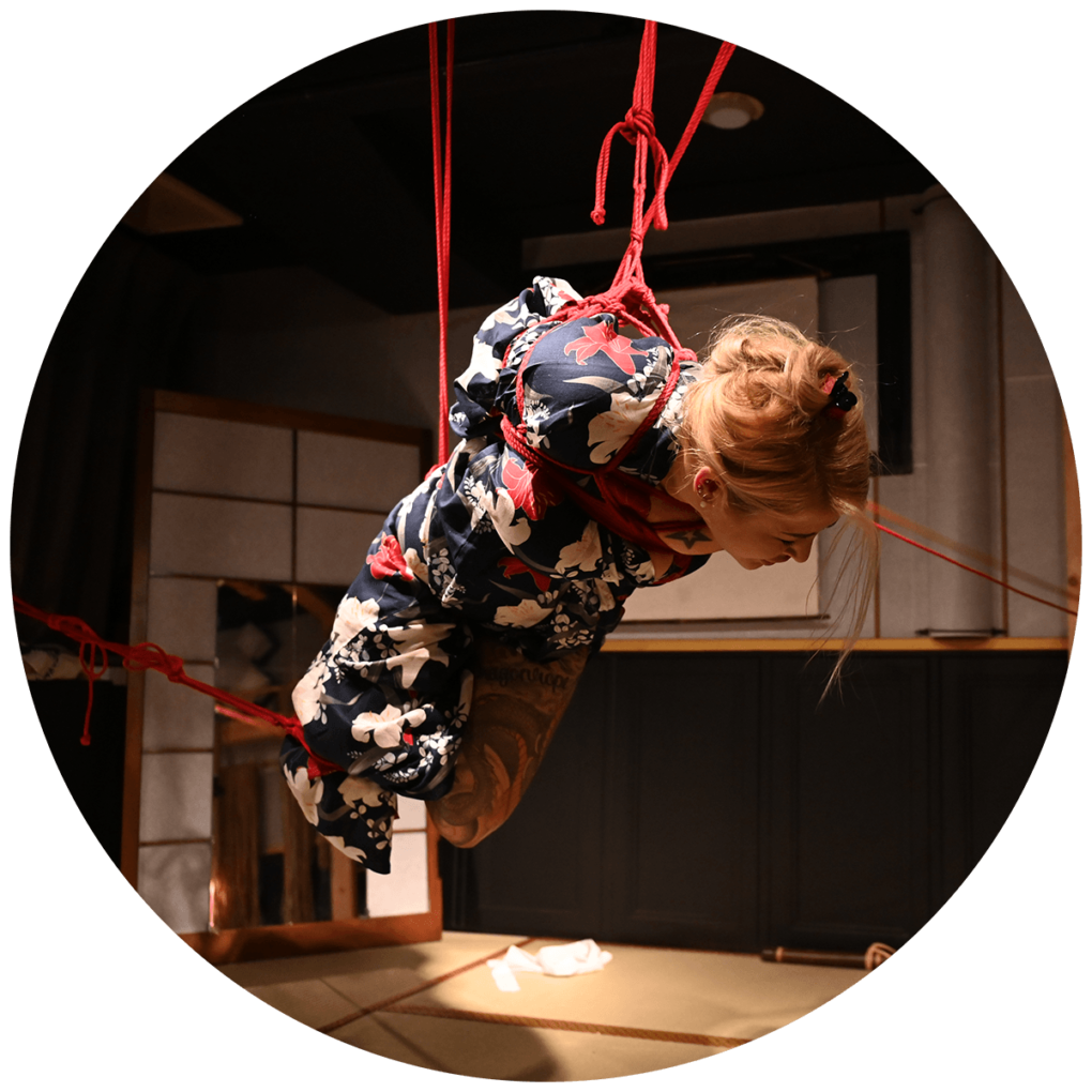 Suspension mit Seme. K2-Salon, 2016.